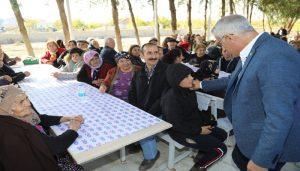 Başkan Güder, Abdal Musa Birlik Lokması Günü'ne Katıldı