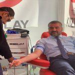 Avşar'dan Kan Bağışı