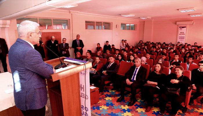 Başkan Güder Öğrencilerle Buluştu