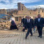 MHP heyeti,Malatya'nın Doğanyol ve Pütürge ilçelerinde inceleme yaptı