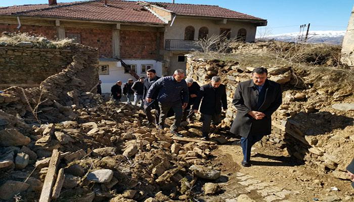 Milletvekili Tüfenkci, Doğanyol'da İncelemelerde Bulundu