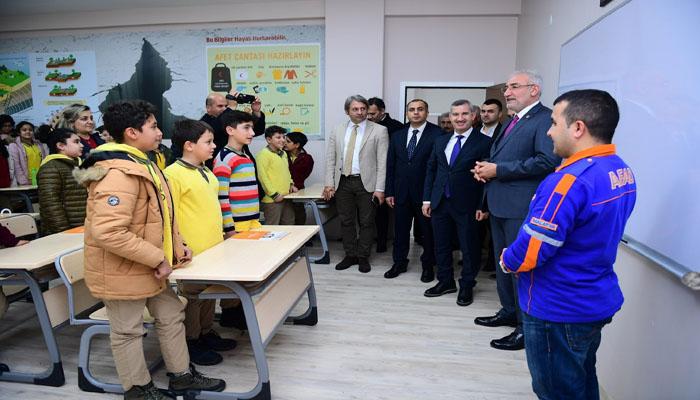 Kâhtalı, Deprem Eğitim Simülasyon Merkezi Ve Bilim Atölyesini Gezdi