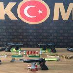 Suç örgütü operasyonunda 18 kişi gözaltına alındı