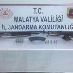 Malatya'da Emniyeti Silah ve Uyuşturucu Ele Geçirdi