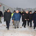 Başkan Şerifoğulları Çadır Kentlerde Vatandaşları Ziyaret Etti