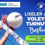 Yeşilyurt Belediyesi Liselerarası Voleybol Turnuvası 17 Şubat'ta Başlayacak