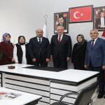 Başkan Güder'den ve Milletvekili Kahtalı'dan Ak Parti İlçe Teşkilatına Ziyaret
