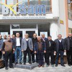 Battalgazi Belediye Başkanı Osman Güder, Bilsam'ın Konuğu Oldu