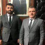 BİMYAD'dan, MHP İl Başkanı Samanlı'ya Hayırlı Olsun Ziyareti