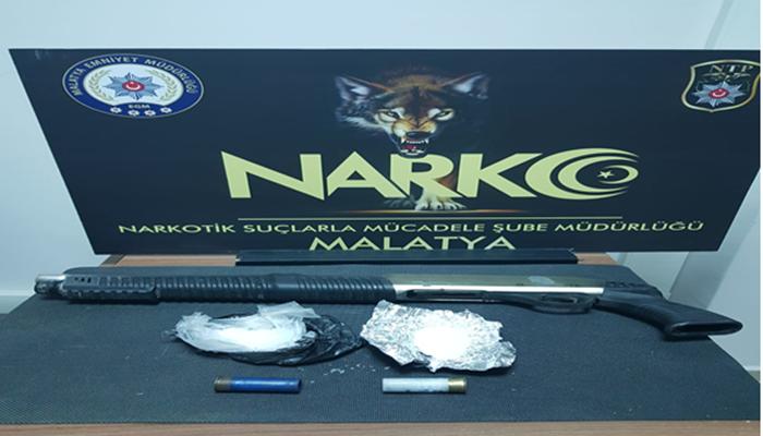 Malatya'da Uyuşturucu Satıcılarına Suç Üstü