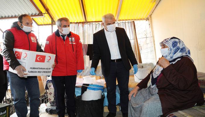 Battalgazi Belediyesi ve Kızılay, İhtiyaç Sahiplerini Unutmadı