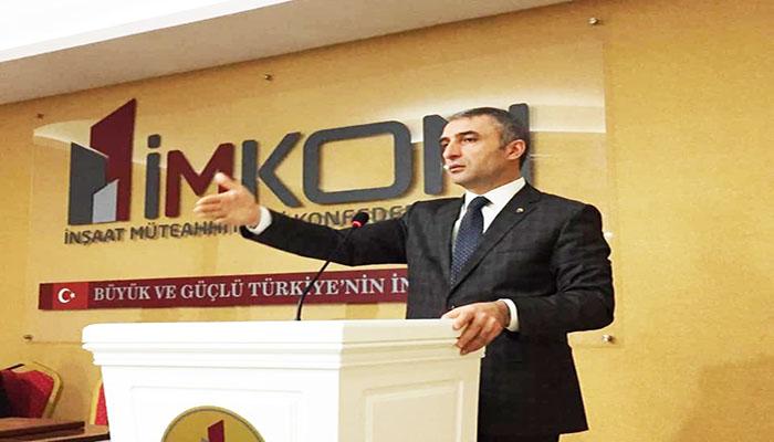 """(İMKON) Genel Başkanı Tahir Tellioğlu """"Konut Satıcılarına Çağrıda"""" bulundu"""