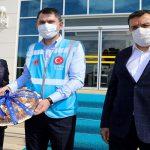 Bakan Kurum, Battalgazi Belediyesi'ni Ziyaret Etti