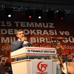 Başkan Çınar'dan 15 Temmuz Demokrasi Ve Milli Birlik Günü Mesajı