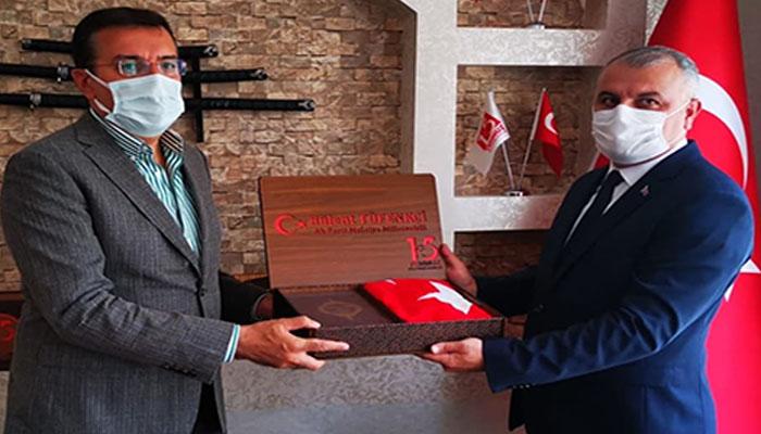 Tüfenkci'den 15 Temmuz Milli İrade Ocakları Derneği'ne Ziyaret