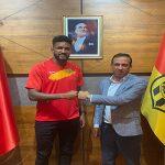 Yeni MalatyaSpor Wallace 2+1 yıllık sözleşme imzaladı
