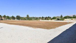Başkan Çınar, Mollakasım Mahallesindeki Yeni Futbol Sahasını İnceledi