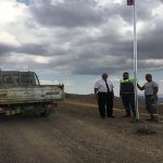 Hekimhan Yama Dağı Radar Üssü Yolunda Çalışmalar Devam Ediyor