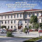 Gürkan: Kütüphane Malatya'ya Özgün Ve Yakışır Bir Şekilde Projelendirildi