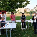 Başkan Çınar, Fethi Gemuhluoğlu Bilgi Evinde Gençlerle Biraraya Gelip, Sohbet Etti
