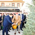 Cumhurbaşkanı Erdoğan Fidan Dikti