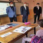 Kanbay Yazıhan İlçesindeki Öğretmen ve Öğrencileri Okullarından Ziyaret Etti