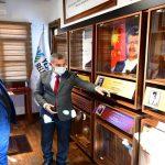 Başkan Çınar, (DAP) Bölge Kalkınma İdaresi Başkanı Prof.Dr. Demirdöğen'i Ağırladı