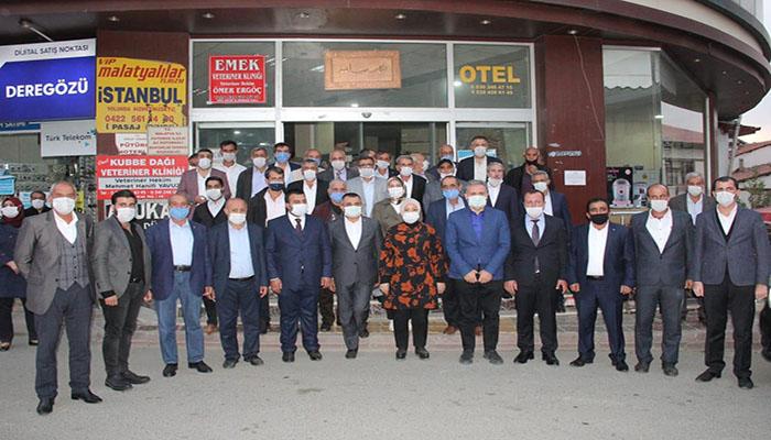 AK Parti Heyetinden Pütürge'ye Çıkarma