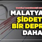 Malatya'da 4.7 Şiddetinde Deprem