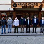 Başkan Çınar, İl Milli Eğitim Müdürü Kanbay'ı Tarihi Konaklarda Ağırladı