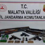 Silah Kaçakçılarına Eş Zamanlı Baskın