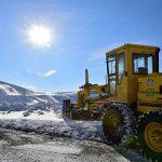 Kardan Dolayı Kapanan Yollar Açılıyor