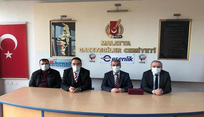 Kızılay Şube Başkanı Soylu Gazeteciler Cemiyetini Ziyaret Etti
