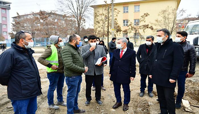 Başkan Çınar, Turgut Özal Mahallesi Kentsel Dönüşüm Proje Alanını İnceledi