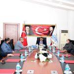 Küçük Sanayi Sitesi Yapı Kooperatif Dernek Yönetimi'nden Ziyaret