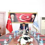 Başkan Gürkan, Arapgir İlçe Muhtarlarıyla İstişarelerde Bulundu