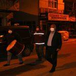 Başkan Karadağ'ın, Sahur Mesaisi