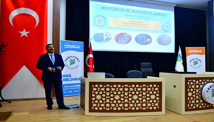 Başkan Çınar, 2.Muhtarlar Akademisinin Açılış Programına Katıldı