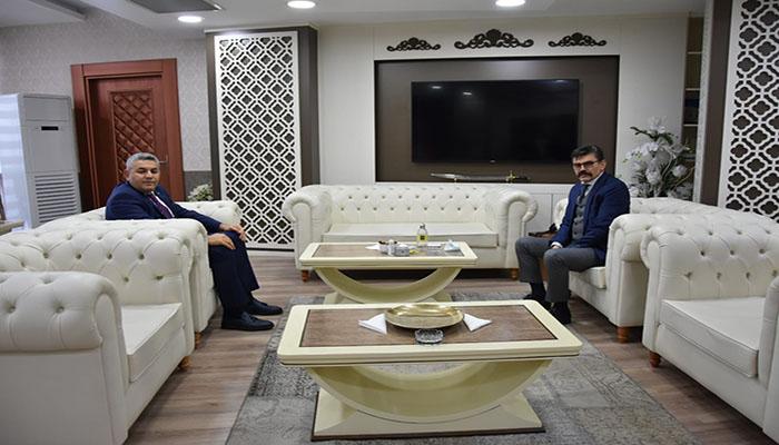 Başkan Sadıkoğlu'ndan Emniyet Müdürüne Ziyaret
