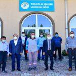 Başkan Çınar, Temizlik İşler Müdürlüğü Personeleriyle Biraraya Geldi