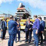 Başkan Gürkan, Mobil Plent Tesisinde İnceleme Yaptı