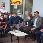 Tüfenkci'den Arapgir İlçesine Ziyaret