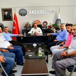 Başkan Çınar, Akçadağ Dayanışma Derneği Yönetimiyle Bir Araya Geldi