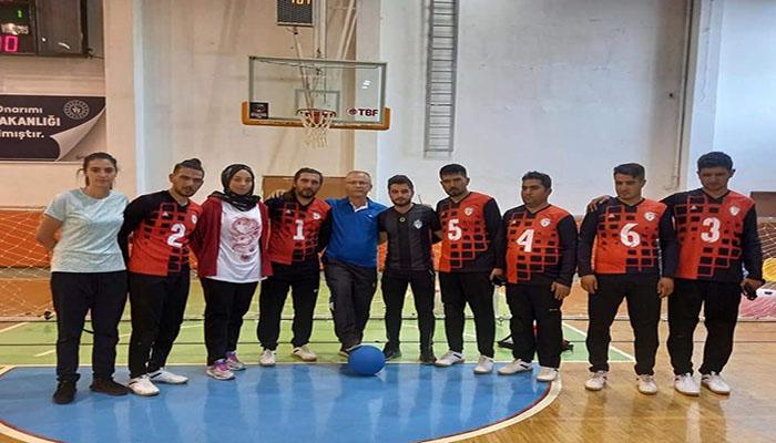Görme Engelliler Takımı, Goalboll 3.Lig 1.Yarıyı Lider Kapattı