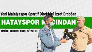 Sportif Direktör İzzet Erdoğan, Malatya Galibiyet İstiyor