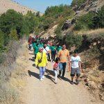 Yeşilyurt'ta Avrupa Hareketlilik Haftası Kapsamında Doğa Yürüyüşü Düzenlendi