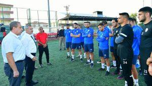 Çınar'dan Yeşilyurt  Belediyespor Futbol Takımına Tam Destek