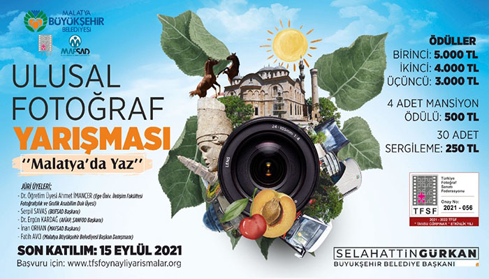 """""""Malatya'da Yaz"""" Fotoğraf Yarışmasına Katılan Eserler Değerlendirilmeye Başlandı"""