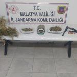 Battalgazi İlçesi Orduzu Mahallesinde Kubar Esrar Operasyonu