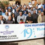 Battalgazi Belediyesi'nden Muhtarlara Jest